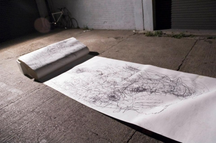 The Yard - Drawing